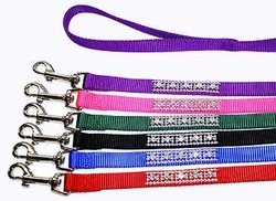 Jeweled Nylon Leads 3/8 x 4ft.