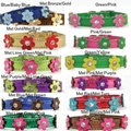 Morrco Flower Power Dog Collars