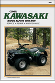 Kawasaki Bayou KLF400 ATV Repair Manual 1993-1999