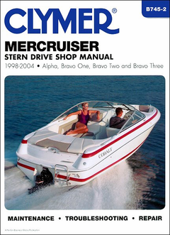 Mercruiser Stern Drive Repair Manual 1998-2004