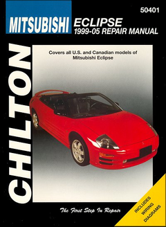 Mitsubishi Eclipse Repair Manual 1999-2005