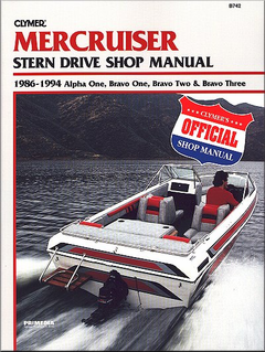 Mercruiser Stern Drive Repair Manual 1986-1994