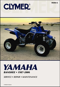 Yamaha Banshee YFZ350 ATV Repair Manual 1987-2006