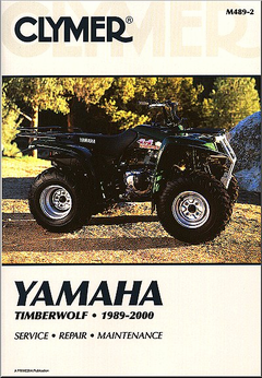 Yamaha Timberwolf YFM250, YFB250, YFB250FW ATV Repair Manual 1989-2000
