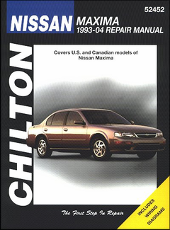 Nissan Maxima Repair Manual 1993-2004