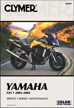 Yamaha FZ1 Repair Manual 2001-2005