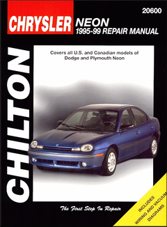 Dodge Neon, Plymouth Neon Repair Manual 1995-1999