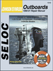 Johnson Evinrude Outboard Repair Manual 1.25-70 HP, 1-4 Cylinder, 2-Stroke & 4-Stroke 1990-2001