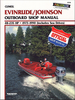 Evinrude Johnson Outboard 48-235 HP Repair Manual 1973-1990