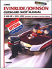 Evinrude Johnson Outboard 2-300 HP Repair Manual 1991-1994