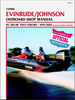 Evinrude Johnson Outboard 85-300 HP 2-Stroke Repair Manual 1995-2002