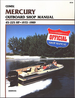 Mercury Outboard 45-225 HP Repair Manual 1972-1989