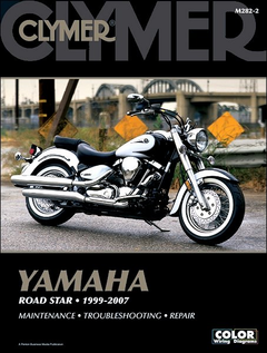 Yamaha Road Star 1600, 1700 Repair Manual 1999-2007