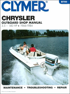 Chrysler Outboard Repair Manual 3.5-140 HP 1966-1984