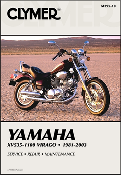 Yamaha Virago 535, 700, 750, 920, 1000, 1100 Repair Manual 1981-2003