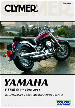 Yamaha V-Star 650 Repair Manual 1998-2011