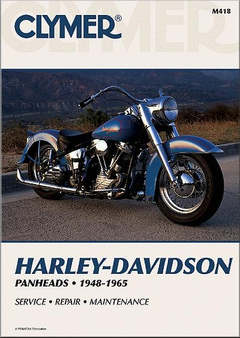 Harley-Davidson Panhead Repair Manual 1948-1965: EL, FL, FLH, FLS, more