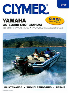 Yamaha Outboard Repair Manual 115-250 HP Two-Stroke 1999-2002