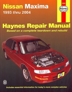Nissan Maxima Haynes Repair Manual 1993-2004