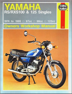 Yamaha RS100, RXS100, RS125, RXS125 Repair Manual 1974-1995