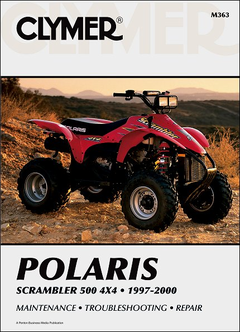 Polaris Scrambler 500 4X4 ATV Repair Manual 1997-2000