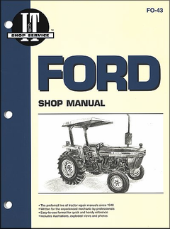 Ford Tractor Repair Manual Models 2810, 2910, 3910