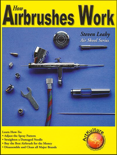How Airbrushes Work: Adjust the Spray Pattern, Straighten the Needle, Disassemble & Clean...