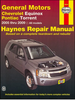 Chevrolet Equinox, Pontiac Torrent Repair Manual 2005-2009