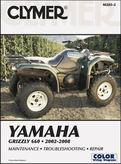 Yamaha Grizzly 660 Repair Manual 2002-2008