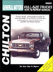 Chevy, GMC Pick-up, Suburban Repair Manual 1970-1979