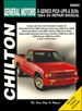 General Motors S Series Pick-ups & SUVs Repair Manual 1994-2004