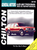 Chevy S-10 Blazer, GMC S-15 Jimmy, Typhoon, Olds Bravada Repair Manual 1983-1993