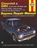 Chevy S-10, GMC S-15 Pick-up Repair Manual 1982-1993