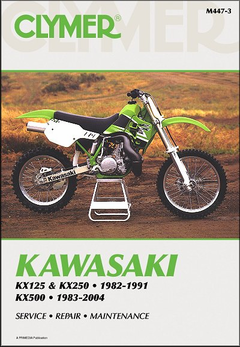 Kawasaki KX125, KX250 1982-1991, KX500 1983-2004 Repair Manual