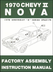 1970 Chevy II Nova Factory Assembly Manual