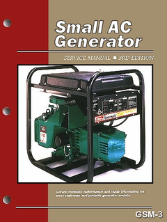 Small AC Generator Service and Repair Manual 3rd Edition