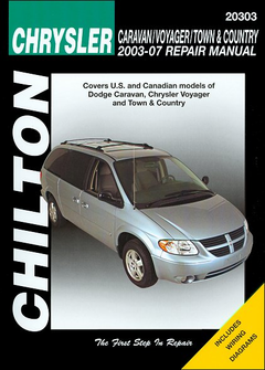 Dodge Caravan, Chrysler Voyager, Chrysler Town & Country Repair Manual 2003-2007