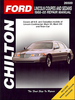 Lincoln Continental, Town Car Repair Manual 1988-2000