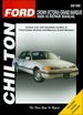 Ford Crown Victoria, Mercury Grand Marquis Repair Manual 1989-2010