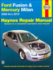 Ford Fusion, Mercury Milan Haynes Repair Manual 2006-2010