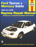 Ford Taurus, Mercury Sable Haynes Repair Manual 1996-2005
