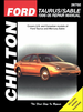 Ford Taurus, Mercury Sable Repair Manual 1996-2005