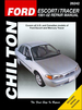 Ford Escort, Mercury Tracer Chilton Repair Manual 1991-2002