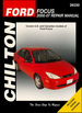 Ford Focus Chilton Repair Manual 2000-2007