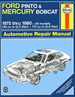 Ford Pinto, Mercury Bobcat Repair Manual 1975-1980