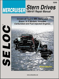 Mercruiser Stern Drive Repair Manual 1964-1991