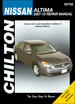 Nissan Altima 2.5L, 3.5L Repair Manual 2007-2010