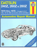 Datsun 240Z, 260Z, 280Z Repair Manual 1970-1978