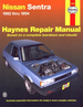 Nissan Sentra Repair Manual 1982-1994