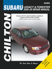 Subaru Legacy Outback, Baja, Forester Repair Manual 2000-2009